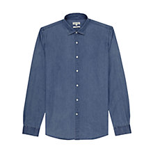 Buy Reiss Knox Slim Fit Shirt, Blue Online at johnlewis.com