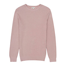 Buy Reiss Edward Waffle Knit Jumper Online at johnlewis.com