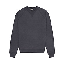 Buy Reiss Cart Seam Detail Sweatshirt, Indigo Online at johnlewis.com