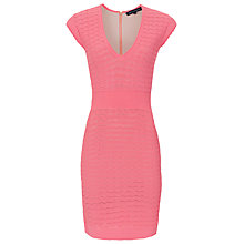 Buy French Connection Miami Danni Bodycon Textured Dress Online at johnlewis.com