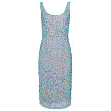 Buy French Connection Selene Dress, Causeway Blue Online at johnlewis.com