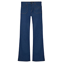 Buy Gerard Darel Argent Flared Jeans, Indigo Online at johnlewis.com
