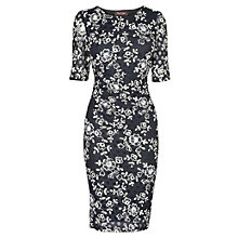 Buy Phase Eight Lotty Lace Dress, Navy/Ivory Online at johnlewis.com