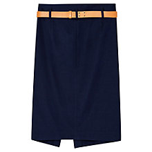 Buy Gerard Darel Alix Skirt, Blue Online at johnlewis.com