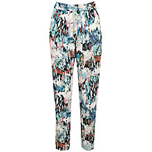 Buy French Connection Isla Ripple Trousers, Day Dream/Multi Online at johnlewis.com
