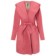 Buy Four Seasons Hooded Wrap Jacket, Candy Online at johnlewis.com