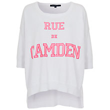 Buy French Connection Rue De Camden Knit Top, Summer White Online at johnlewis.com