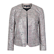 Buy French Connection Sunlight Jacket, Blue Combo Online at johnlewis.com
