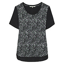 Buy Gerard Darel Auxerre Top, Black Online at johnlewis.com