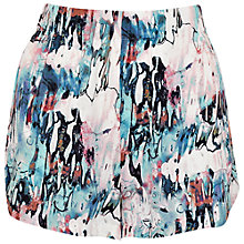Buy French Conection Isla Ripple Hot Pant Shorts, Day Dream/Multi Online at johnlewis.com