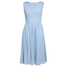 Buy Gina Bacconi Chiffon Beaded Neckline Dress Online at johnlewis.com
