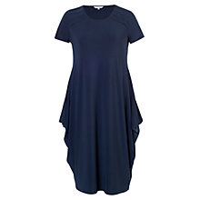 Buy Chesca Tuck Trim Jersey Dress, Navy Online at johnlewis.com