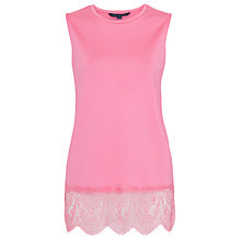 Buy French Connection Lace Spark Top Online at johnlewis.com
