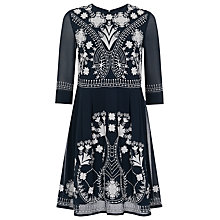 Buy French Connection Kiko Stitch Dress, Multi Online at johnlewis.com