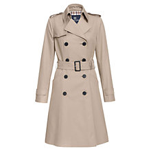 Buy Aquascutum Lana Double Breasted Coat, Camel Online at johnlewis.com