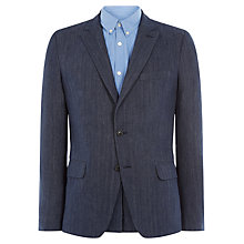 Buy Jaeger Denim Blazer, Navy Online at johnlewis.com