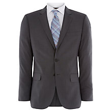 Buy Jaeger Micro Puppytooth Suit Jacket, Charcoal Online at johnlewis.com