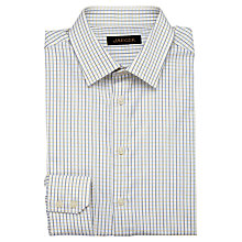 Buy Jaeger Two Colour Check Classic Shirt Online at johnlewis.com