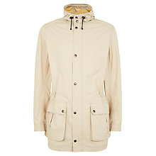 Buy Jaeger Summer Parka Jacket, Ecru Online at johnlewis.com