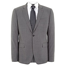 Buy Jaeger Cool Wool Slim Suit Jacket, Air Grey Online at johnlewis.com
