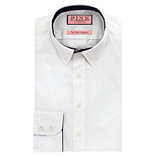 Buy Thomas Pink Hallward Slim Fit Shirt, White Online at johnlewis.com