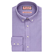 Buy Thomas Pink Goldsmith Panama Button Down Shirt, Lilac Online at johnlewis.com