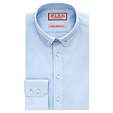 Buy Thomas Pink Goldsmith Panama Button Down Shirt, Pale Blue Online at johnlewis.com