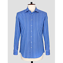 Buy Thomas Pink Damien Stripe Slim Fit Button Cuff Shirt Online at johnlewis.com