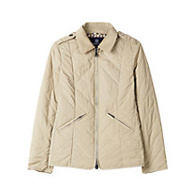 Buy Aquascutum Anderson Quilted Jacket, Beige Online at johnlewis.com