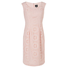 Buy Adrianna Papell Crochet Sheath Dress, Petal Online at johnlewis.com