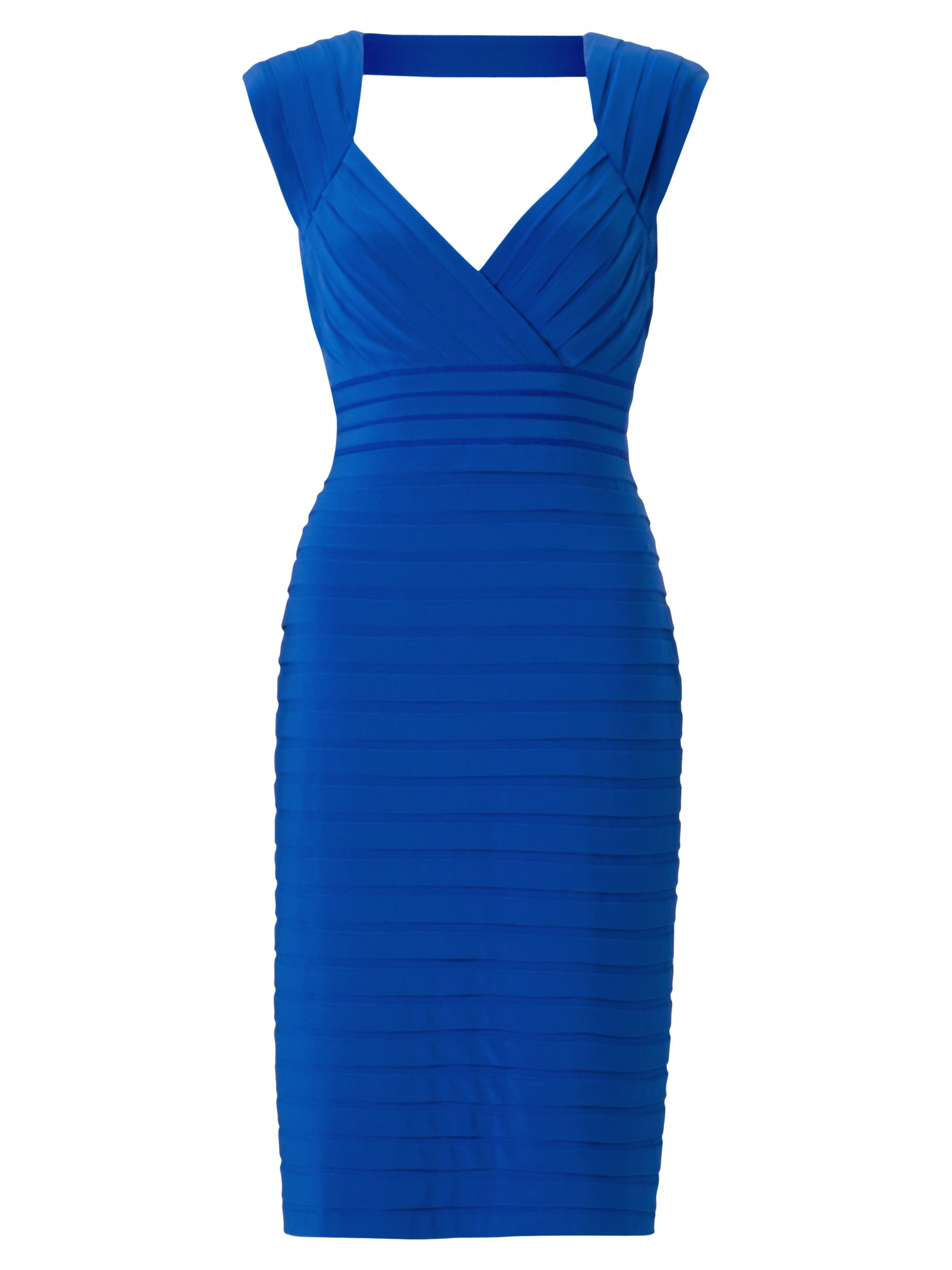 adrianna papell open back banded dress prussian, adrianna, papell, open, back, banded, dress, prussian, adrianna papell, 8|10|16|12|14|18, women, brands a-k, womens dresses, 1879469