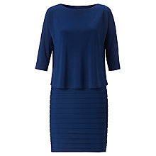 Buy Adrianna Papell Banded Dress, Dust Online at johnlewis.com