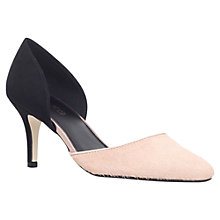 Buy Miss KG Celina2 Mid Heeled Court Shoes, Pony/Other Black Online at johnlewis.com