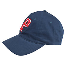 Buy Polarn O. Pyret Children's Baseball Cap, Blue Online at johnlewis.com