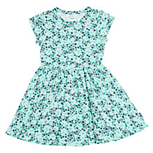 Buy Polarn O. Pyret Girls' Ditsy Floral Dress, Blue Online at johnlewis.com