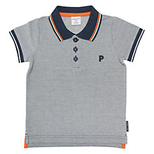 Buy Polarn O. Pyret Baby Polo Shirt, Blue Online at johnlewis.com