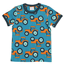 Buy Polarn O. Pyret Children's Tractor T-Shirt Online at johnlewis.com