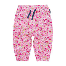 Buy Polarn O. Pyret Baby Floral Trousers, Pink Online at johnlewis.com