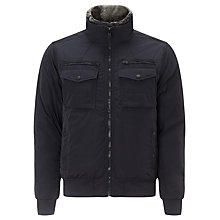 Buy Tommy Hilfiger New Ken Bomber Jacket, Midnight Online at johnlewis.com
