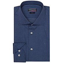 Buy Tommy Hilfiger Jak Poplin Shirt, Navy Online at johnlewis.com