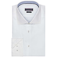 Buy Tommy Hilfiger Scott Dobby Shirt, White Online at johnlewis.com