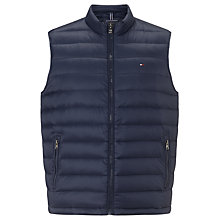 Buy Tommy Hilfiger American Down Gilet, Iris Leaf Online at johnlewis.com