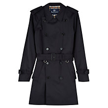Buy Aquascutum Corby Double-Breasted Showerproof Raincoat Online at johnlewis.com