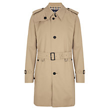 Buy Aquascutum Corby Single-Breasted Showerproof Raincoat Online at johnlewis.com