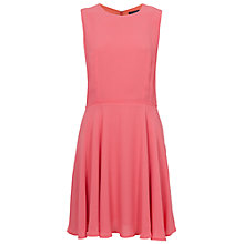 Buy French Connection Ana Crepe Flare Dress Online at johnlewis.com