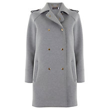 Buy Mint Velvet Double Faced Coat, Grey Online at johnlewis.com