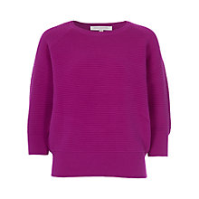 Buy French Connection Three-Quarter Sleeve Spring Mozart Jumper Online at johnlewis.com
