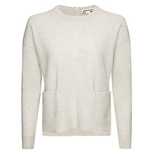 Buy Whistles Cashmere Pocket Front Jumper Online at johnlewis.com