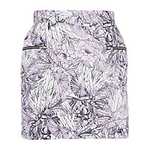 Buy French Connection Flight of Fancy Skirt, Violet Vice Multi Online at johnlewis.com
