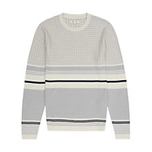 Buy Reiss Sultan Patterned Stripe Jumper Online at johnlewis.com